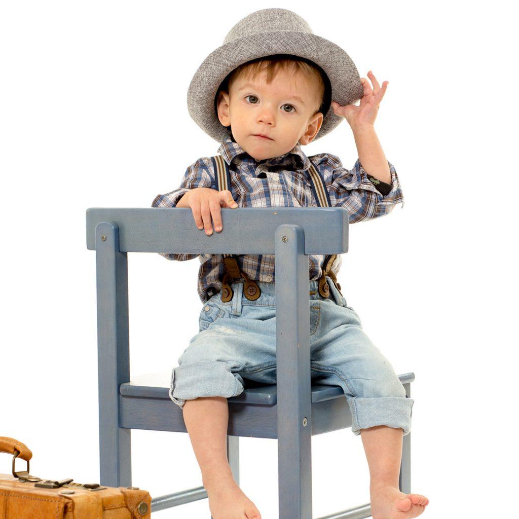 Junge mit Hut11