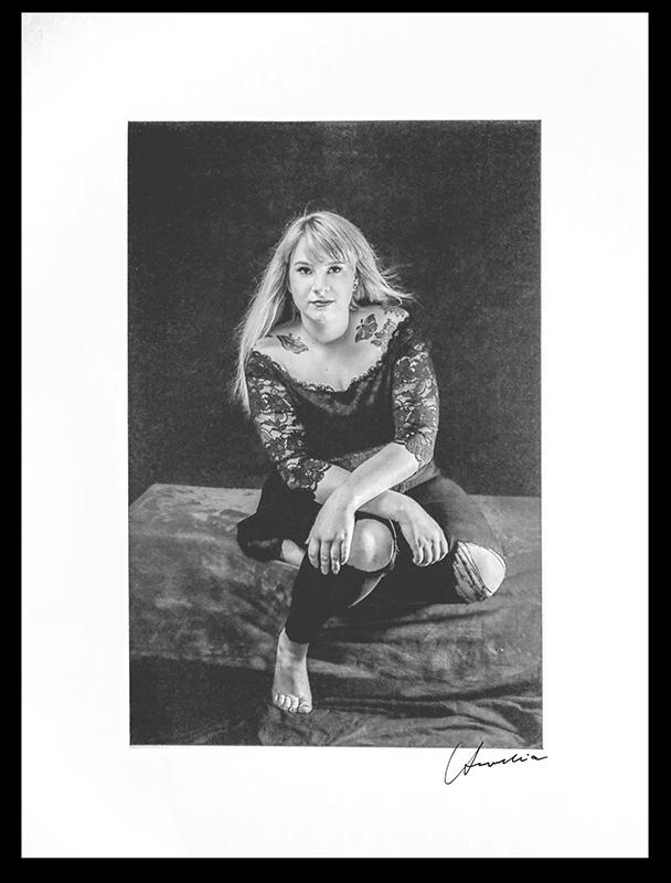 erotische Portraitaufnahme einer Frau im Fotostudio Aurelia Schulz Bad Arolsen